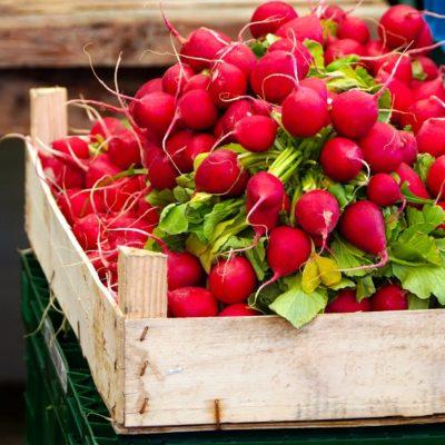 radishes, vegetables, food